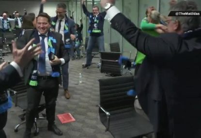 The moment Australia found out it would co-host the 2023 Women's World Cup