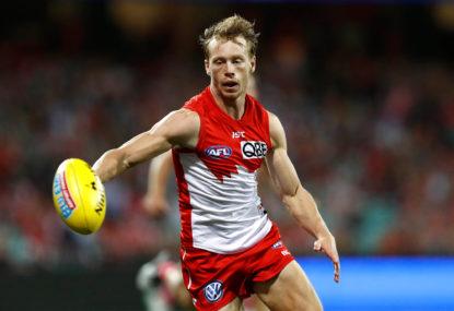 Sydney Swans vs Brisbane Lions: AFL live scores
