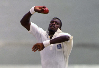 Who were the second best Test team of the 1990s?