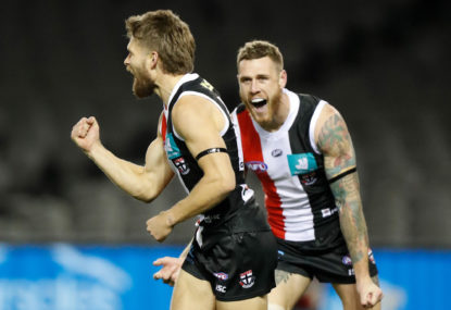 St Kilda Saints vs West Coast Eagles: AFL live scores