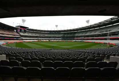 An MCG grand final probably can't happen - but where else works?