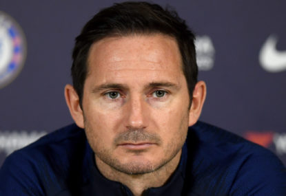 Lampard's patience for youth is finally tested