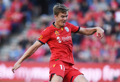 Carl Veart has Adelaide United humming