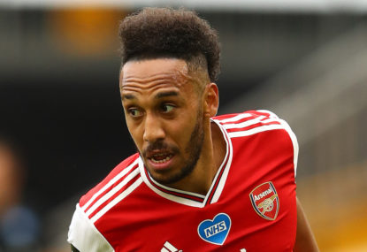 Aubameyang at the double as Arsenal secure FA Cup