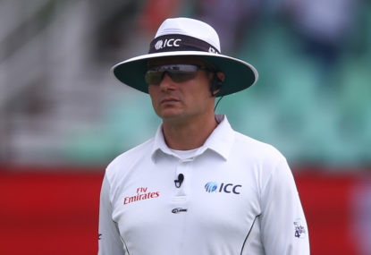 The big issue with the umpires in Test cricket's return