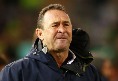 Ricky Stuart says his Raiders were embarrassed by the Eels