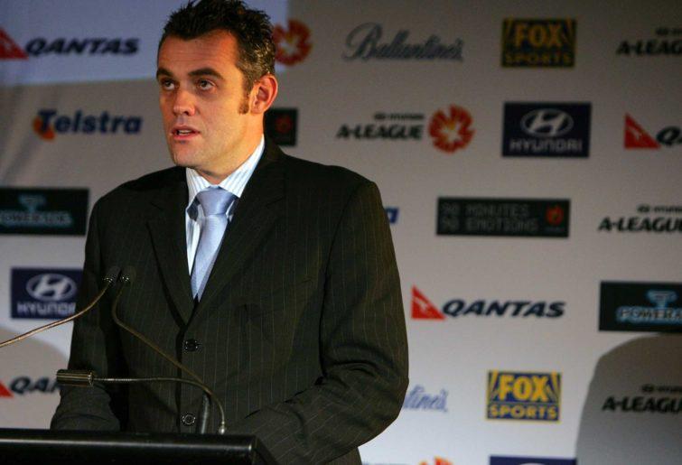 Fox Sports television presenter Simon Hill
