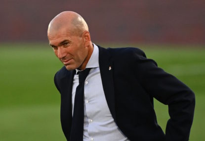 Zinedine Zidane proves he is world-class
