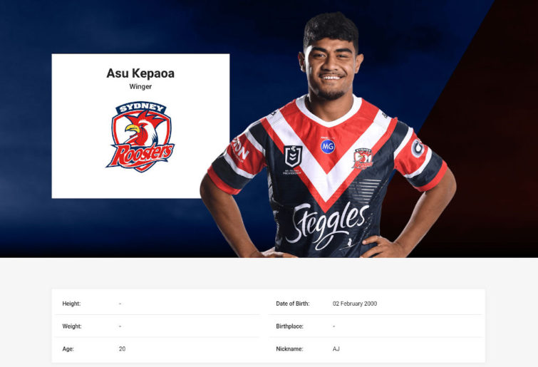 Screenshot of Asu Kepaoa profile