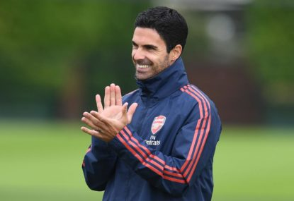 Times are changing for Arteta's Arsenal