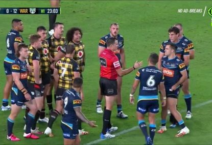 'Unacceptable': Ref throws serious shade at Titans for murdering a scrum