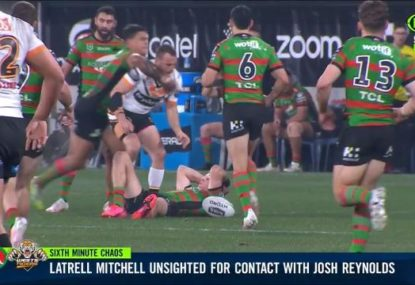 NRL greats call for Latrell to face scrutiny for revenge hit on Reynolds