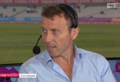 Mike Atherton gets hilariously stitched up with all time on-air prank