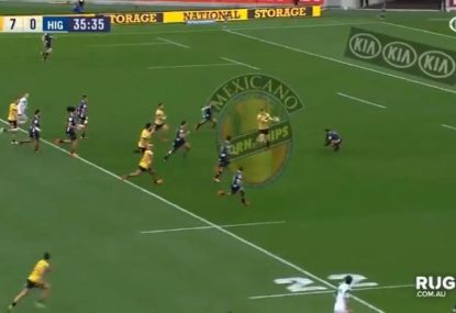 Outrageous Jordie Barrett pass is rugby heaven and we're in love