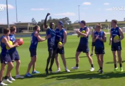 The moment Majak Daw was told he'd play AFL again for the first time in two years
