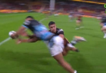 Kotoni Staggs astounding try-saver triggers Gregan flashbacks