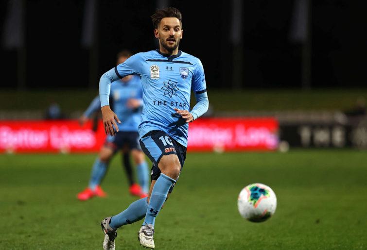 Milos Ninkovic from Sydney FC