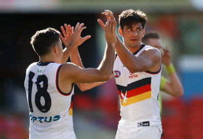 Adelaide Crows vs GWS Giants: AFL live scores