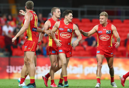 Gold Coast Suns to celebrate their tenth anniversary this Saturday night