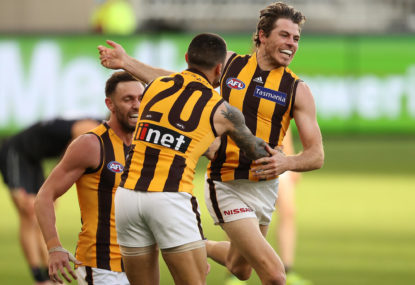 The AFL pecking order in Round 18