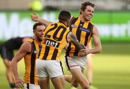 Hawthorn Hawks vs Adelaide Crows: AFL live scores