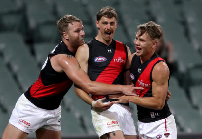 Daniher officially a Lion after Bombers elect not to match offer