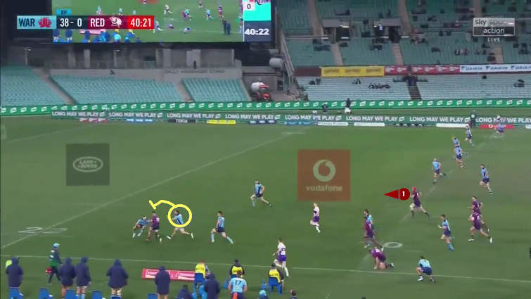 michael hooper cover tackle positioning