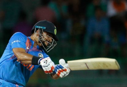 Five of Suresh Raina's best innings
