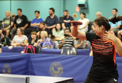 Stephanie Sang's kids inspire return to elite table tennis