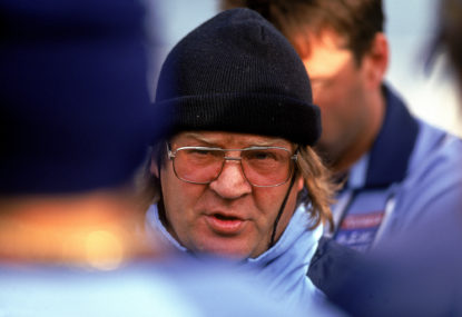 Tommy Raudonikis was a legend and larrikin... and a thug