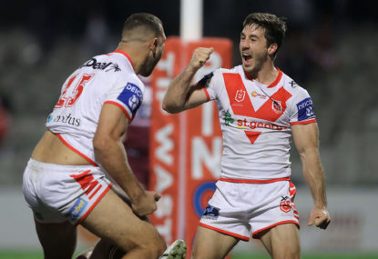 St George Illawarra Dragons vs Canberra Raiders: NRL live scores