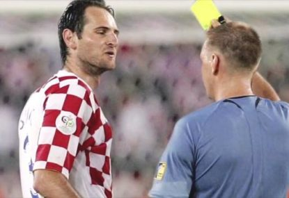 Josip Simunic tells the inside story behind those three yellow cards