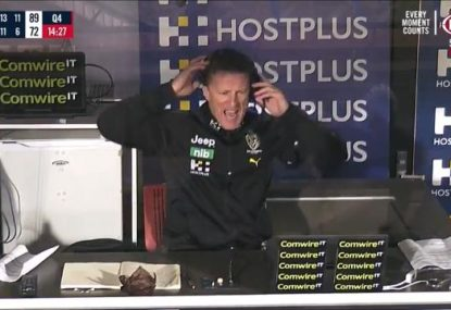 Damien Hardwick goes nuclear after 'dumb' Tigers concede 100m penalty