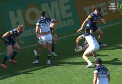 'That's near a penalty': Cowboys hooker roasted for the year's worst forward pass