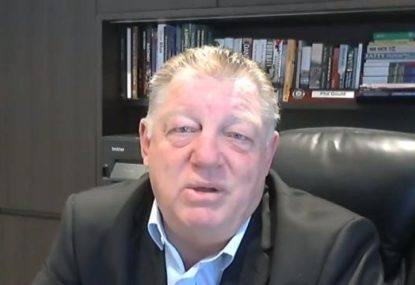 Why Phil Gould chose to be a club consultant at the Warriors