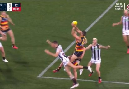 Tex Walker takes huge speccy, then ruins it almost instantly
