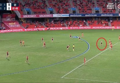 Jonathan Brown savages 'terrible' Dons veteran after gifting Suns a goal