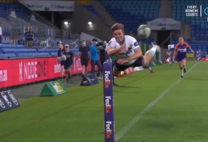 Tahs young gun gives his best Superman impression with miraculous 50:22 save