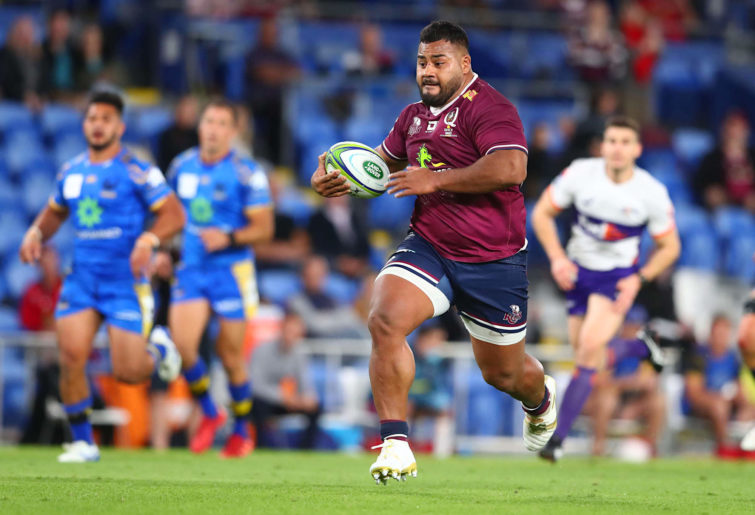 Taniela Tupou makes a break