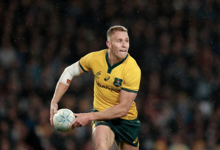 Reece Hodge of the Wallabies