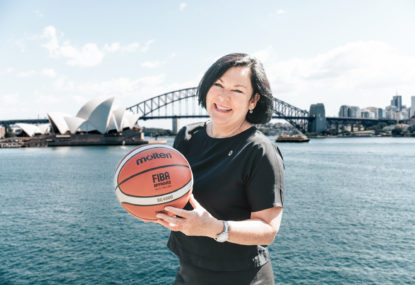 Melissa King hopes to leave a legacy through the FIBA Women's World Cup