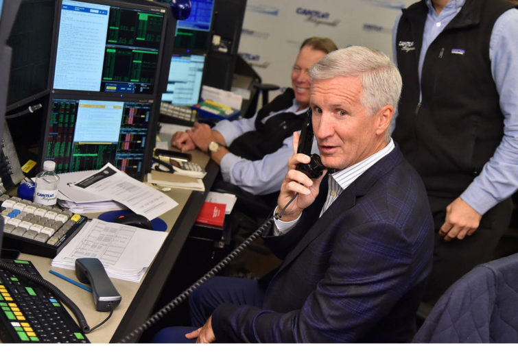 NBA play-by-play announcer Mike Breen.