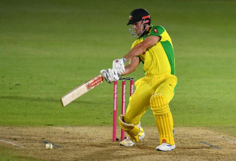 Australia's batsman Mitchell Marsh