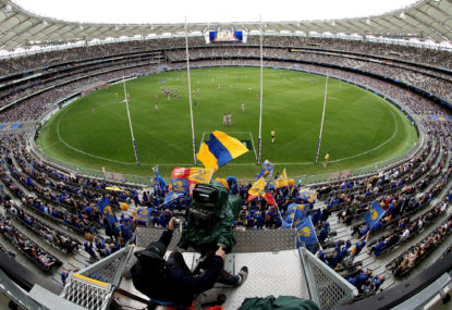 The AFL must use an interstate hub for finals –and there's only one safe choice