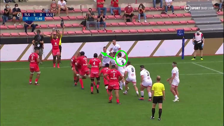 toulouse vs ulster lineout
