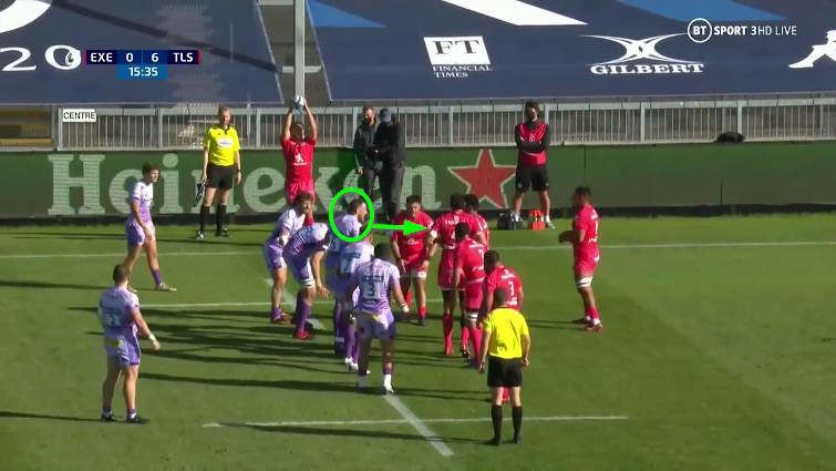 rory arnold lineout