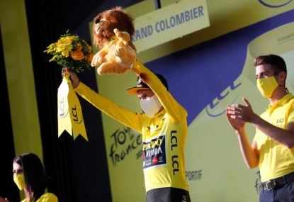 Indulge me, because this is the best Tour de France in years