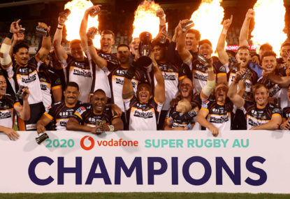 Brumbies halt the Red tide to win thrilling Super Rugby AU final