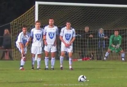 Get in the mood for a big week of football with these incredible free kicks