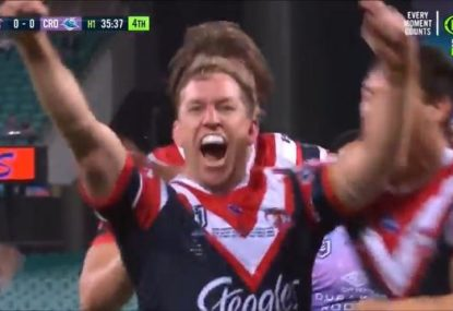 Mitch Aubusson scores fairytale first try in record-breaking match